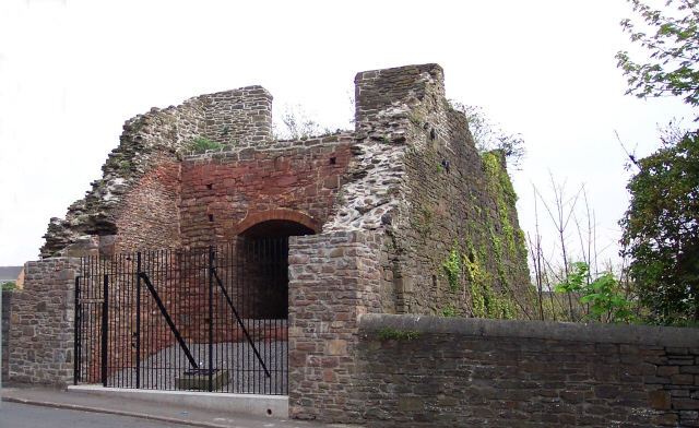 Neath Abbey Ironworks blast furnace