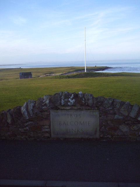 Balcomie Golf Links Foundation Stone