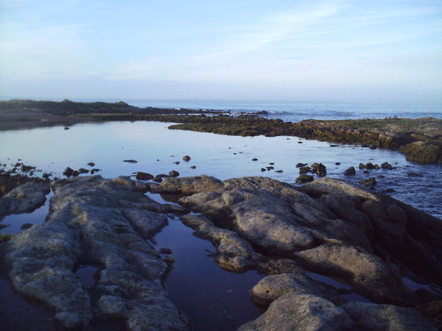 Tidal Mill Pool Fife Ness Harbour