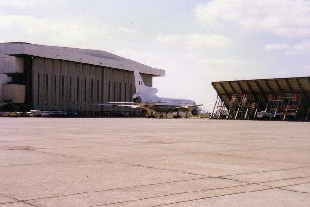 RAF Tristar at Heathrow