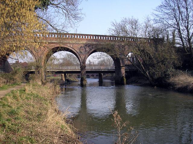 Railway bridge at Leatherhead