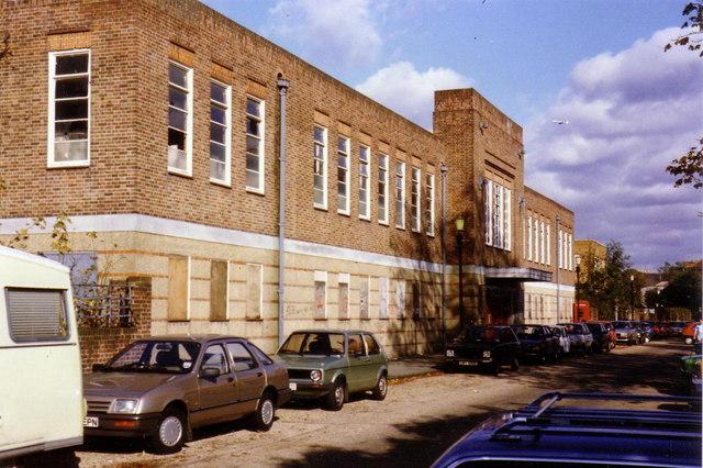 Twickenham baths in 1986