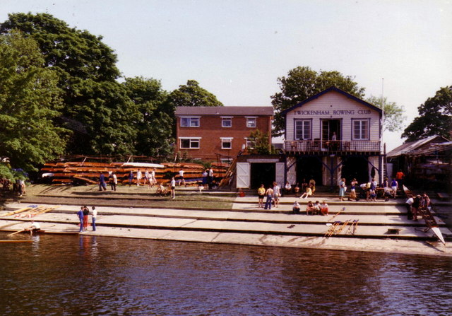 Twickenham Rowing Club - regatta, 1978.