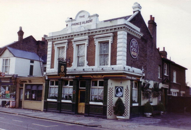 The Prince Albert public house, Twickenham, 1982