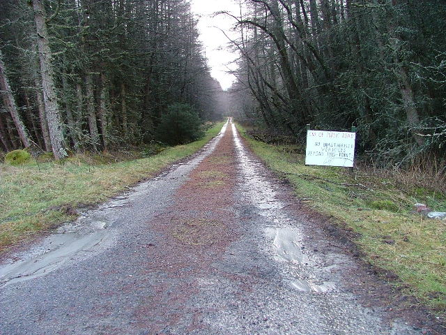 Private Road to Leanachan