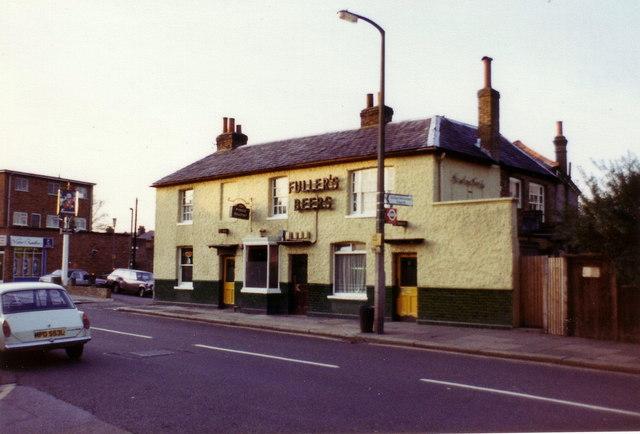 The Prince Blucher public house, Twickenham, 1982