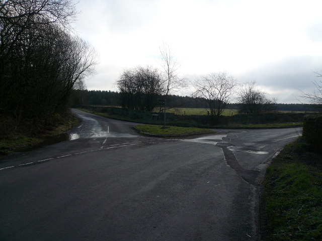 Jaggers Lane Junction with Farley Lane