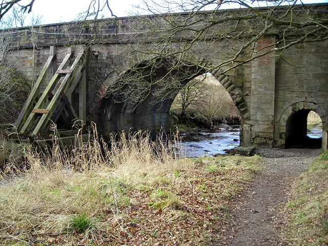 Disused Bridge Over Calder Water