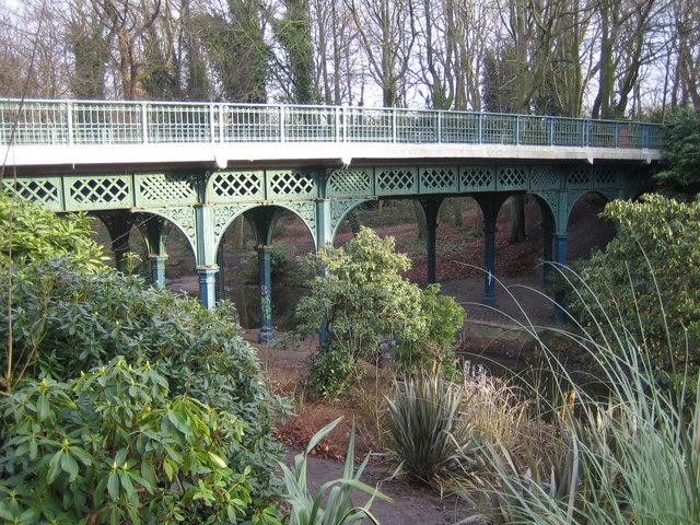 Liverpool: The Iron Bridge, Sefton Park, L17