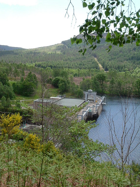 Torr Achilty Dam