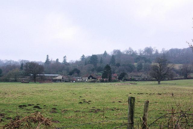 View towards Home Farm