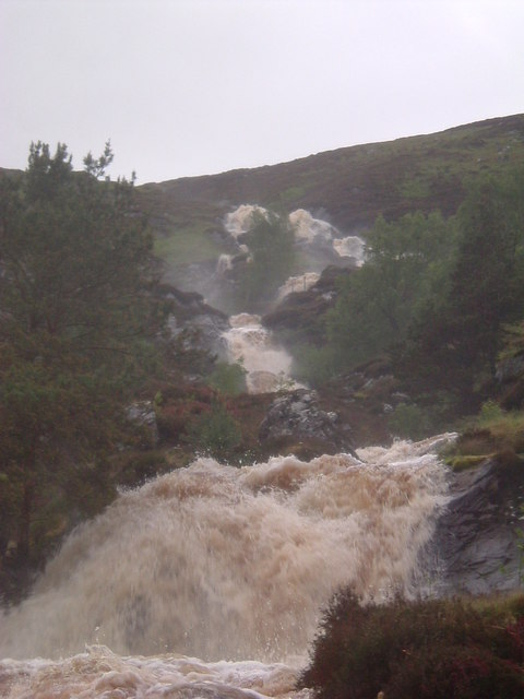 Waterfall at Strathanmore
