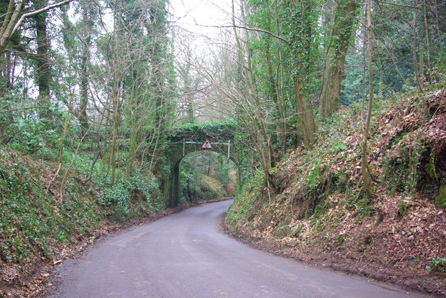 Private Bridge over Milland Lane