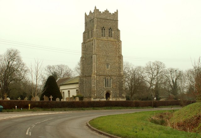 St. Mary's church, Horham