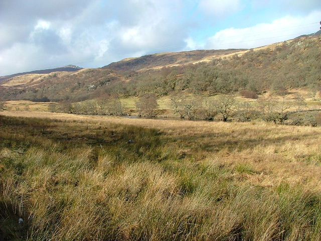 Moorland and The River Dochart