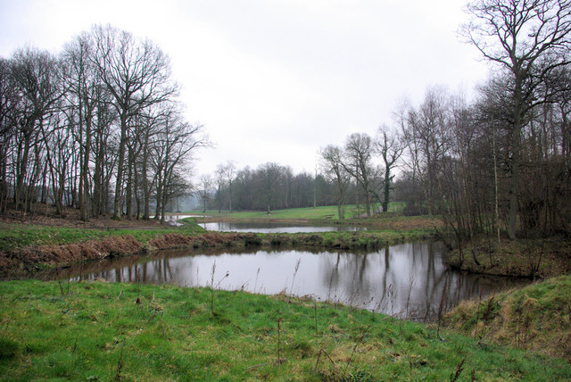 Ponds below Maysleith Wood