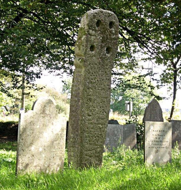 Ancient churchyard cross