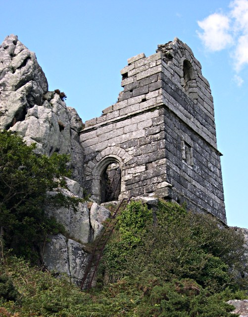 The Hermitage on Roche Rock