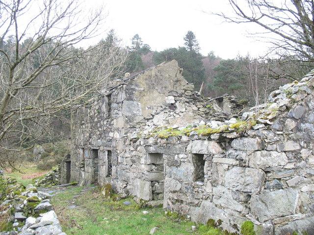 Fron Goediog - an abandoned farmstead