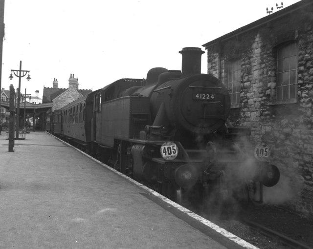 Wareham train at Swanage, Dorset