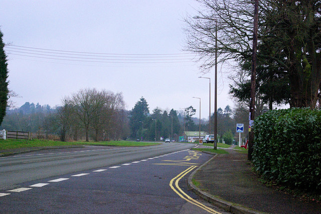 The Old A3 approaching Rake.