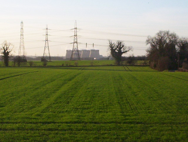 View to Ferrybridge Power Station