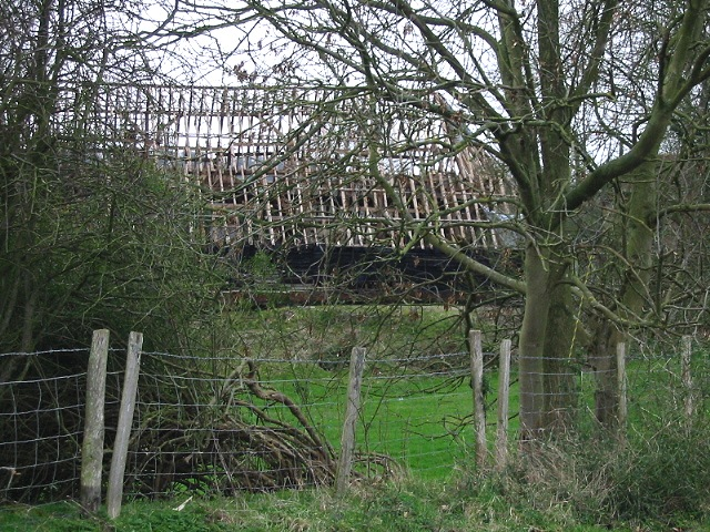 Large barn undergoing conversion or renovation