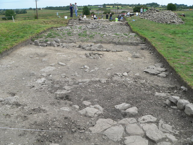 Discovery Programme excavation at Tulsk.