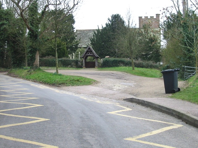 Petham church and lych gate