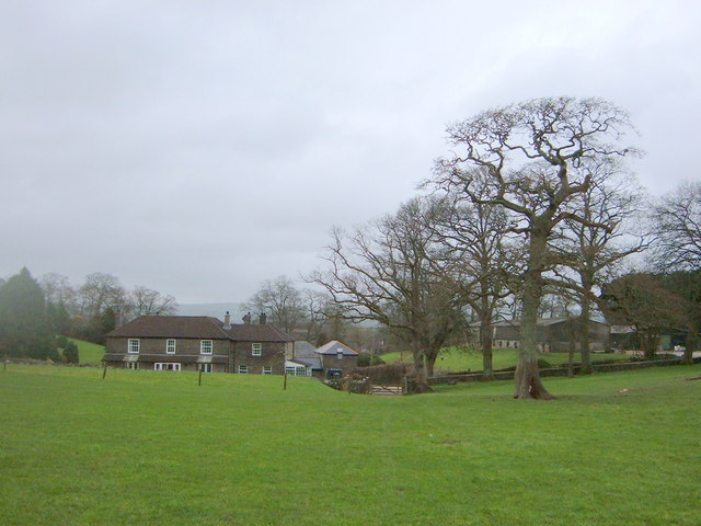 View back from Hill of Country Houses