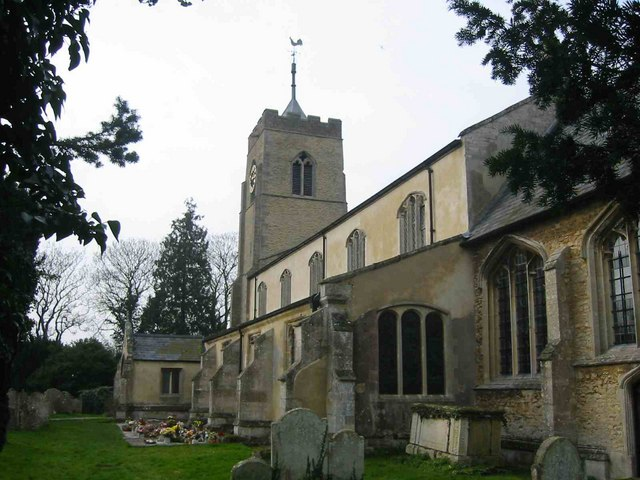St Mary's church at Wisbech St Mary