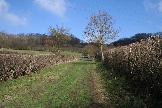 Footpath up from Bradlow