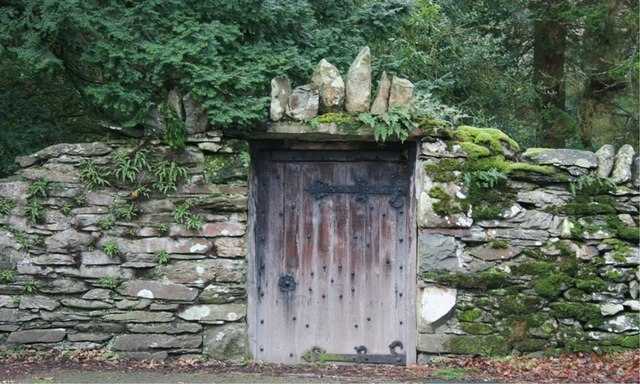 Gate in Wall, Patterdale Hall Estate