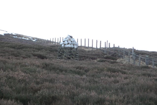 Cairn on Hill of Mondurran