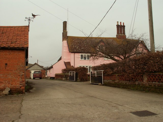 A view of Burnt House Farm
