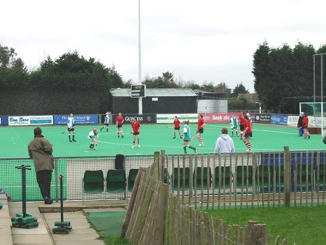 Canterbury Hockey club's astro turf pitch