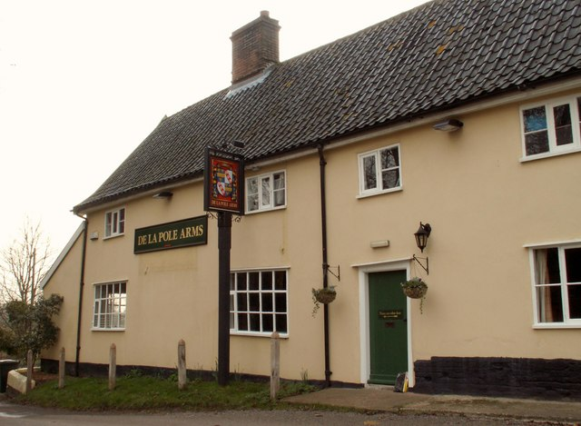 'De La Pole Arms' inn at Wingfield