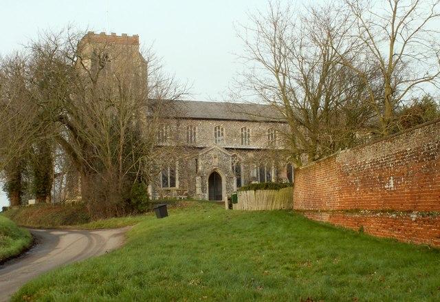 St. Andrew's church, Wingfield, Suffolk