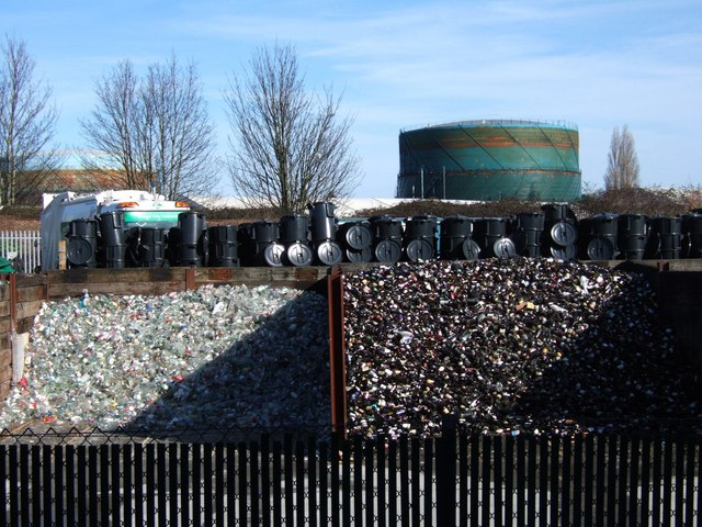Glass recycling, Exeter