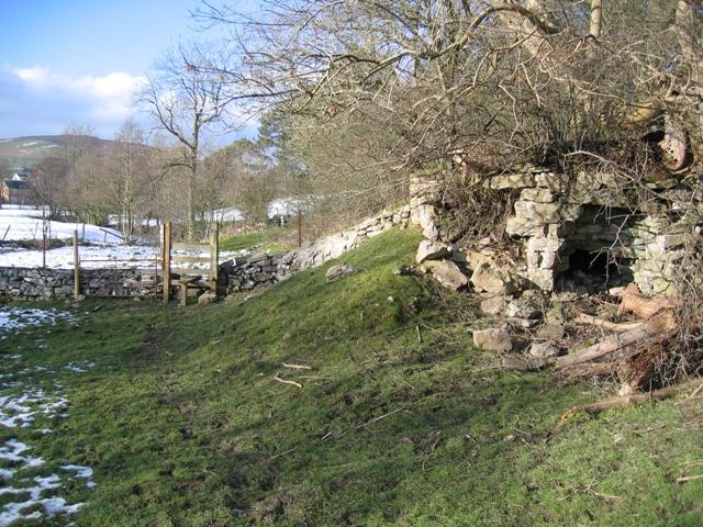 Lime Kiln near Llanarmon yn Ial