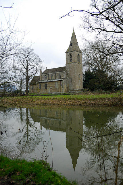 The church of St. Remigius, Water Newton