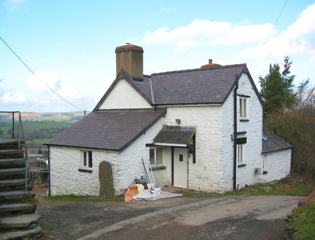 Farmhouse at Coed-talwrn
