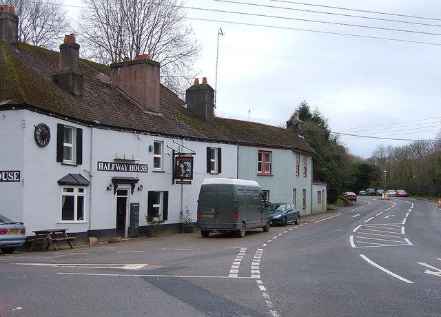 Halfway House Pub on A374