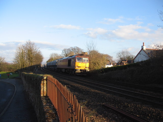 Railway at Scotby