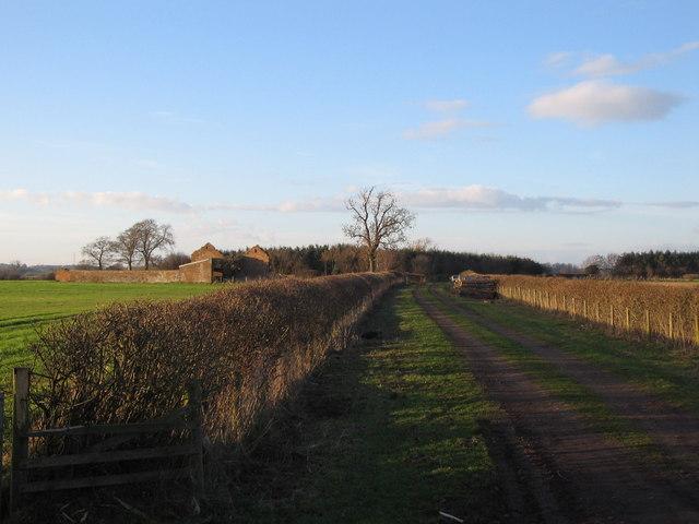 Track to Strickland