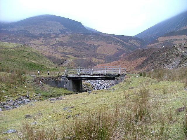 Bridge over the Allt a' Bhreac Achaidh