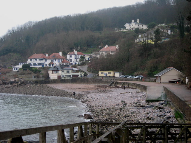 Old Babbacombe Village in Winter