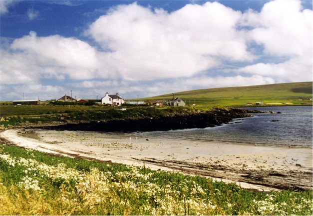 Beach at Haroldswick