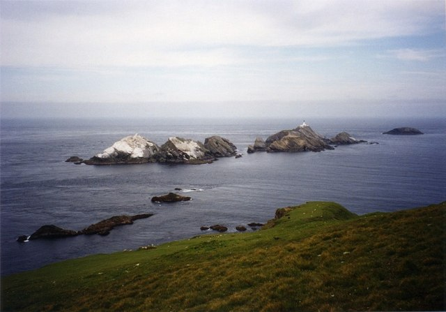 North west tip of Hermaness, Unst