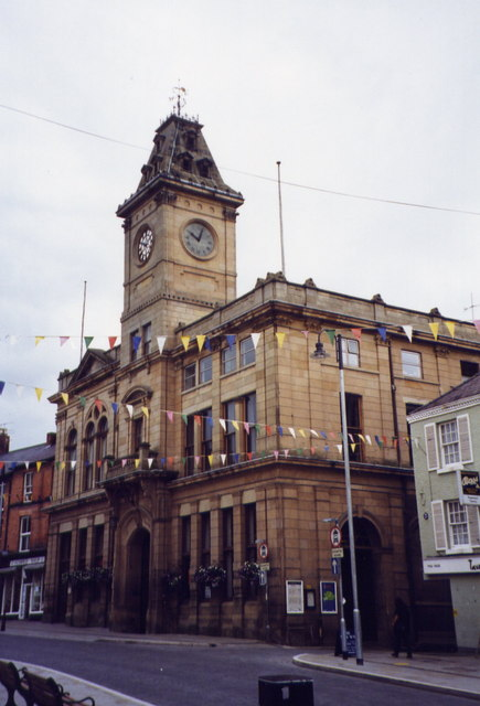 The Town Hall, Welshpool